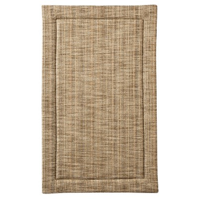"32""x20"" Home Border Memory Foam Mat - Threshold™ Tan"