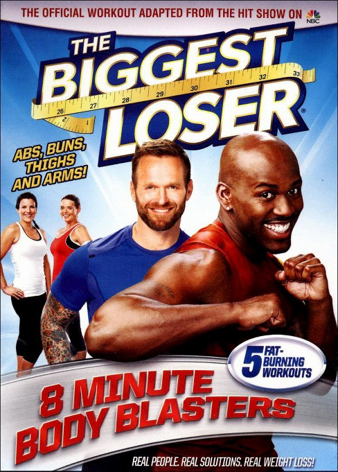 Biggest loser:8 minute body blasters (DVD) - image 1 of 1