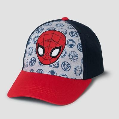 Toddler Boys' Marvel Spider-Man Baseball Hat - Black