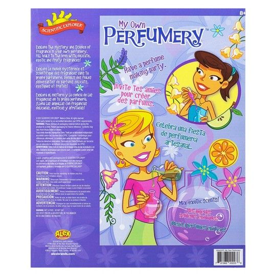 Scientific Explorer Perfumery Science Kit image number null