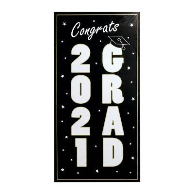 Large 2021 Graduation Door Banner - Spritz™