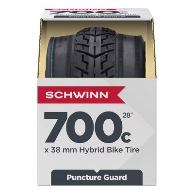 """Schwinn 700c/28"""" Hybrid Bike Tire - Black"""