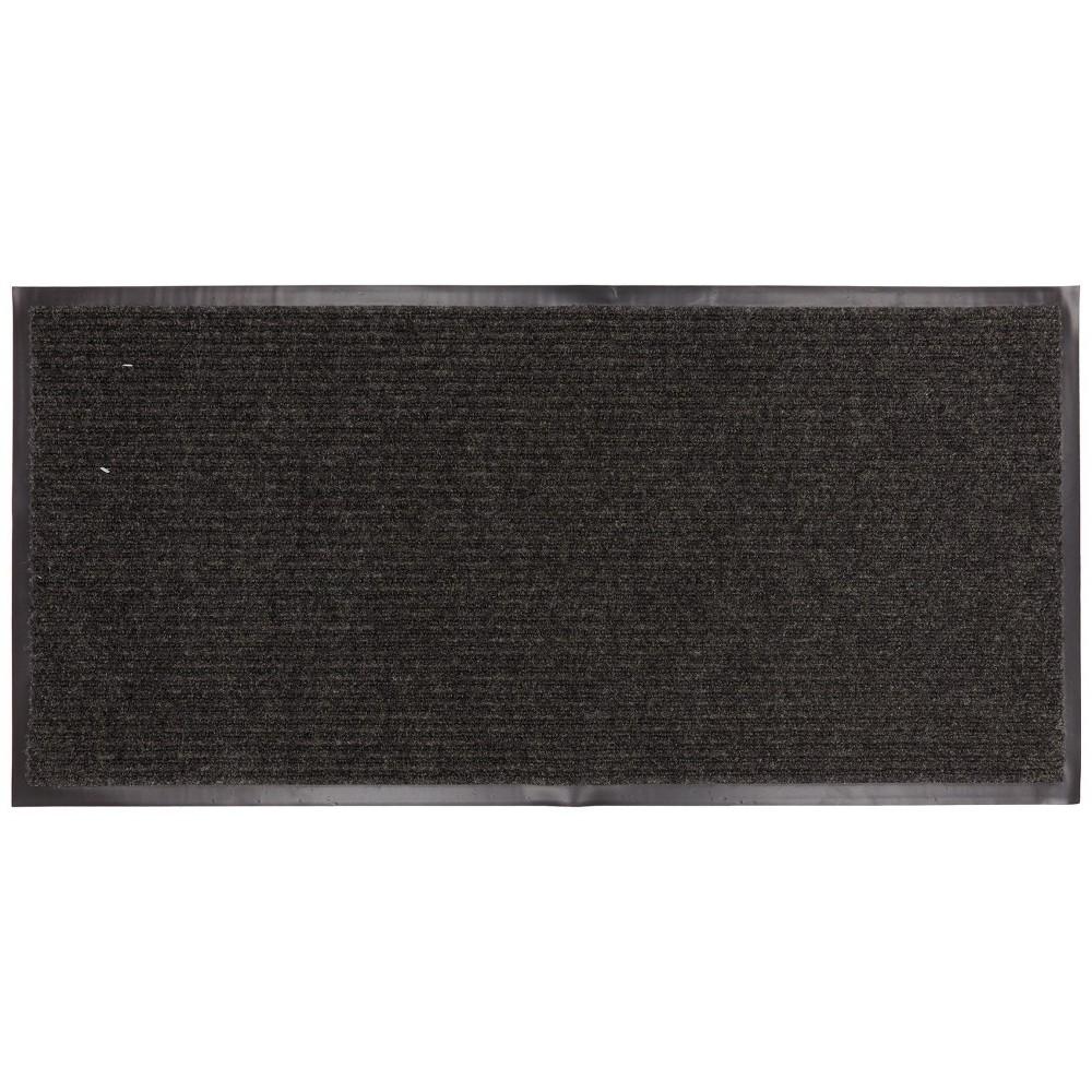Mohawk Home Ribbed Utility Doormat - Gray (2x4'), Grey