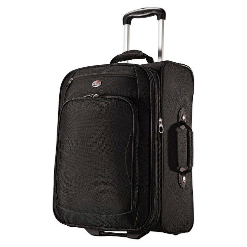 "American Tourister Splash 21"" Carry On Suitcase - Black - image 1 of 6"