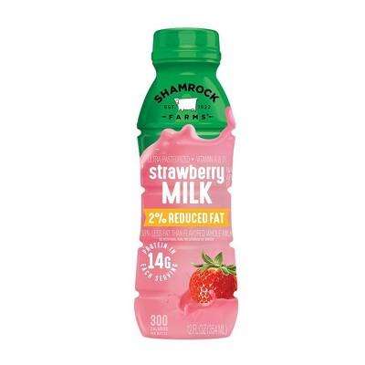 Shamrock Farms 2% Strawberry Milk - 12 fl oz