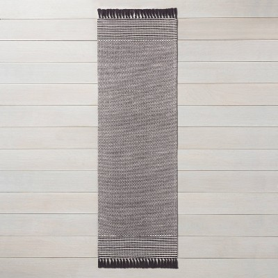 Textured Border Stripe Area Rug - Hearth & Hand™ with Magnolia