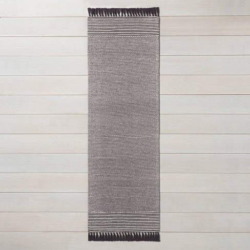 Textured Border Stripe Area Rug - Hearth & Hand™ with Magnolia - image 1 of 4