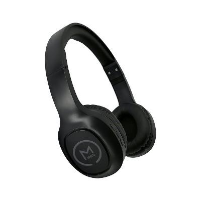 Morpheus 360 Tremors HP4500B Wireless On-Ear Headphones - Bluetooth 5.0 Headset with Microphone, Black