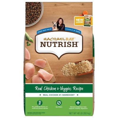 Rachael Ray Nutrish Real Chicken & Veggies Recipe Super Premium Dry Dog Food