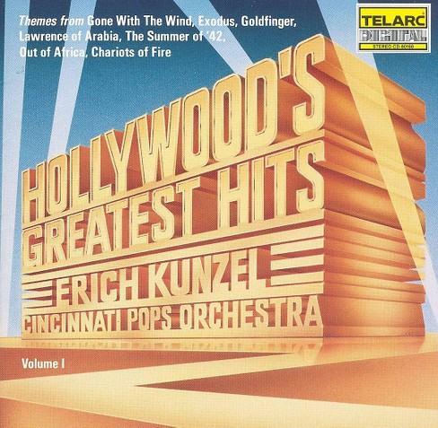 Erich kunzel - Hollywood's greatest hits (CD) - image 1 of 1