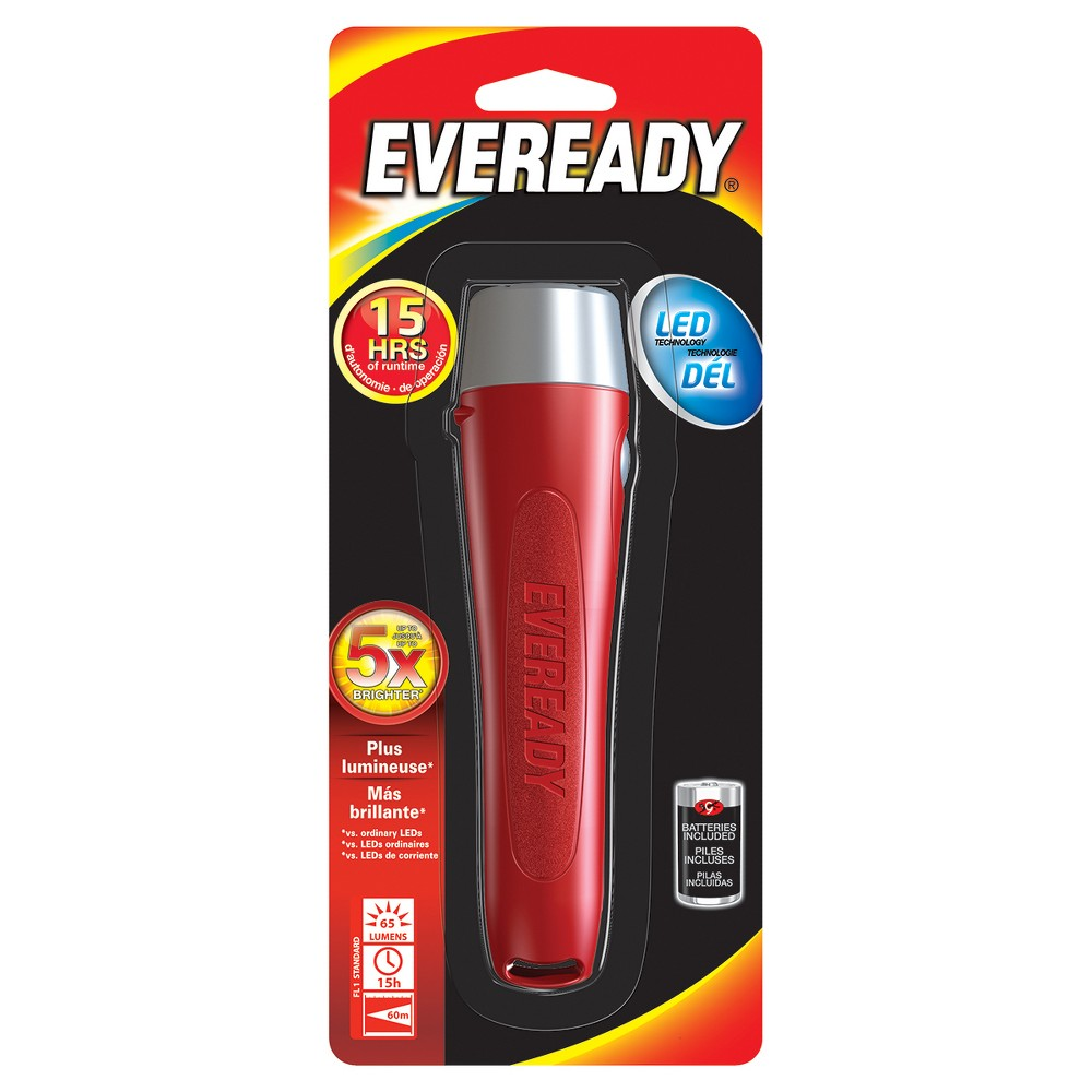 Flashlight Energizer Led Light, Silver