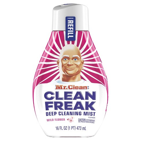 Mr. Clean Clean Freak Deep Cleaning Mist Multi-Surface Spray - Wild Flower Scent Refill - 1ct/16 fl oz - image 1 of 4