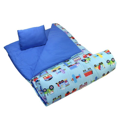 Olive Kids Trains, Planes and Trucks Sleeping Bag - image 1 of 1