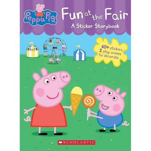 Fun at the Fair - (Peppa Pig) by  Scholastic (Paperback) - image 1 of 1