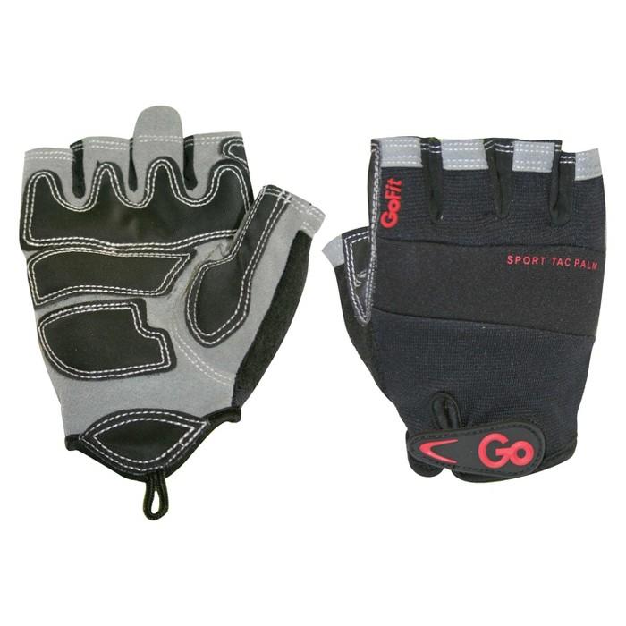 GoFit Men's Pro Sport-Tac Glove - Black/Gray - image 1 of 2
