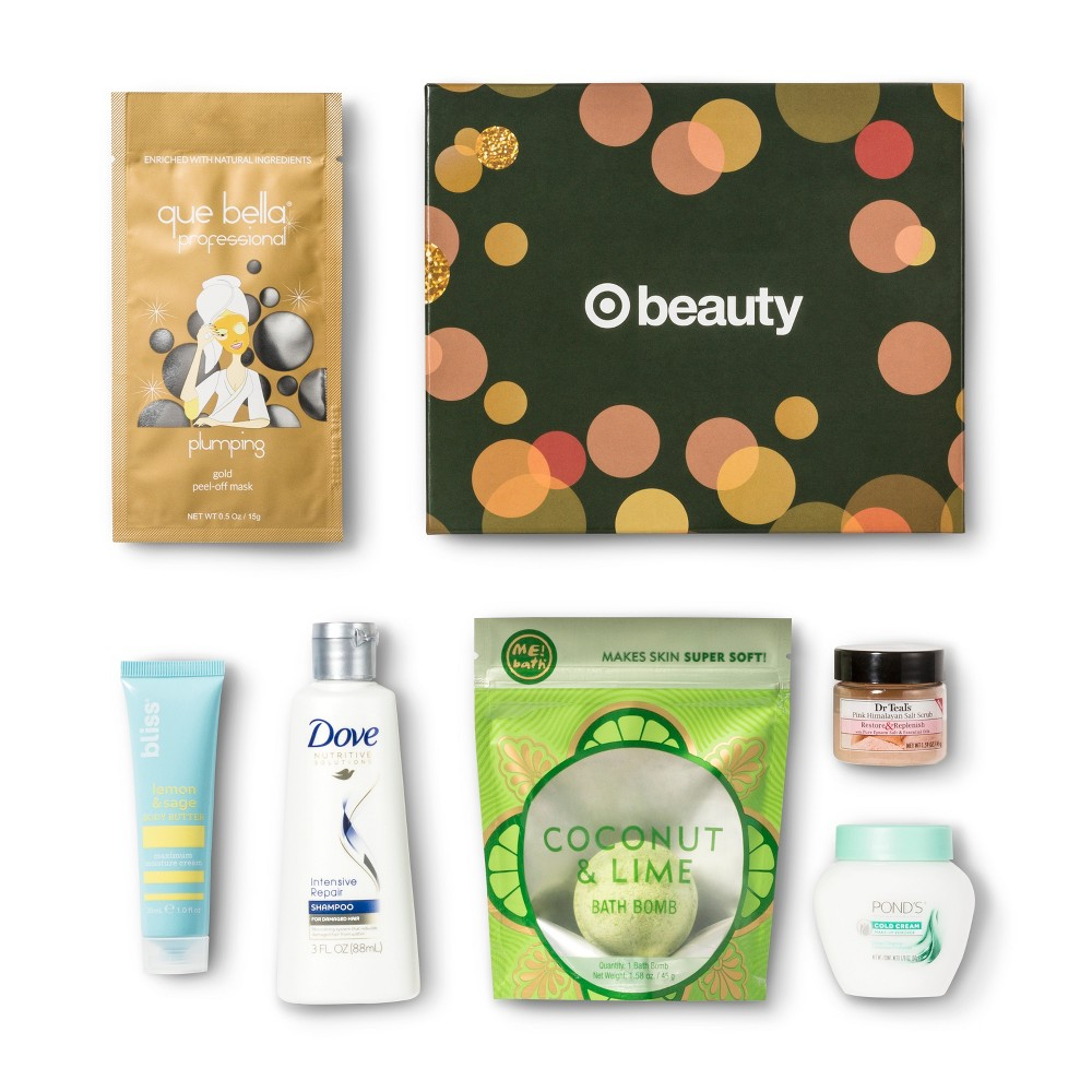 Target Beauty Box - Holiday - Beauty Sample Box