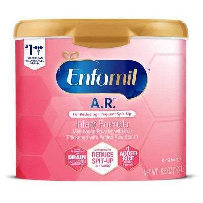 Enfamil A.R. Infant Formula Powder Tub - 19.5oz