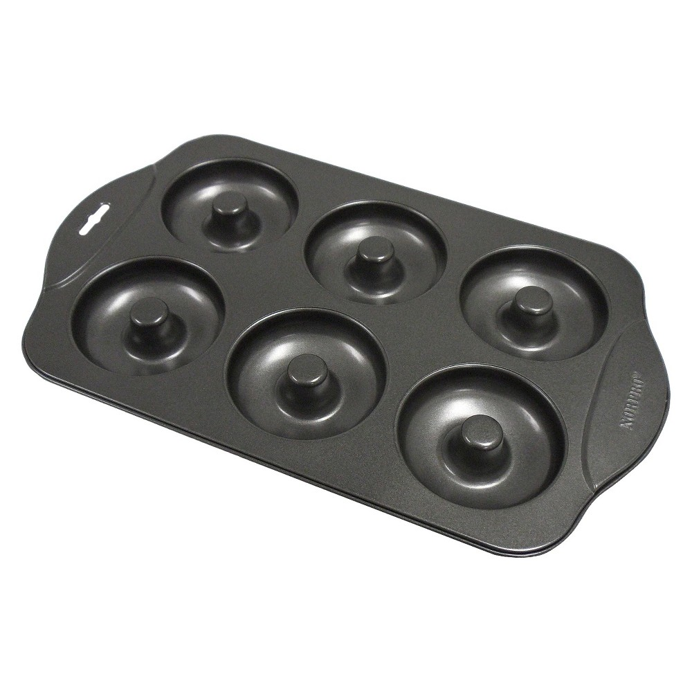 Norpro Nonstick 6-Donut Pan, Black