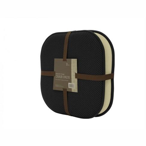 GoodGram 2 Pack: Ultra Comfort Memory Foam Non-Slip Chair Pads/Cushions - image 1 of 1