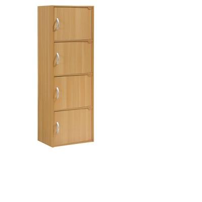 Hodedah Import Storage Cabinet - Neutral