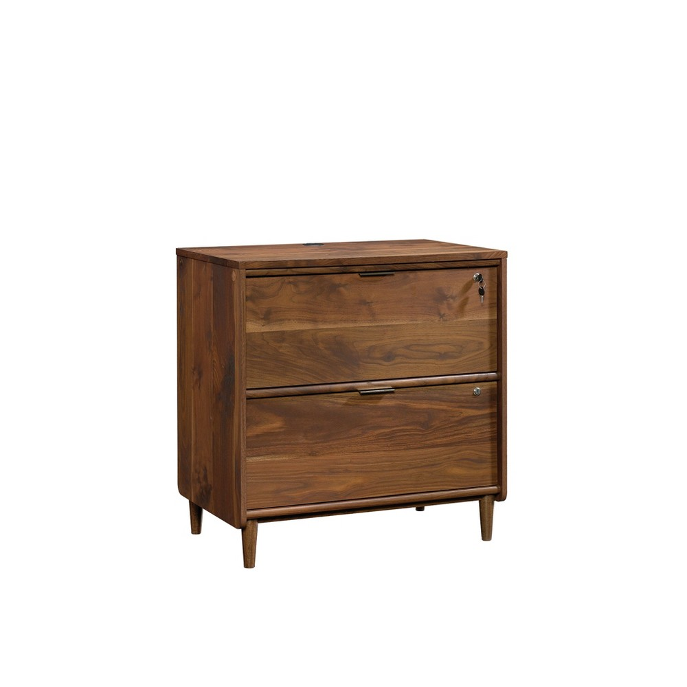 Image of 2 Drawers Clifford Place File Cabinet Grand Walnut - Sauder, Brown