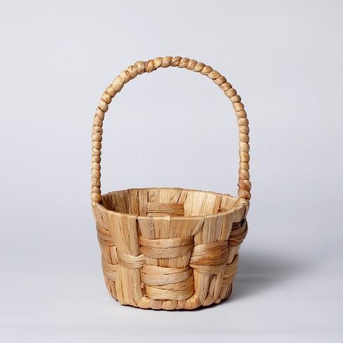 Water Hyacinth Woven Basket Natural - Threshold™ - image 1 of 2