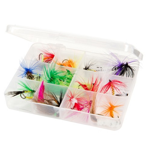 Wakeman Outdoors Assorted Dry Fly Fishing Flies - 25 Pc - image 1 of 4