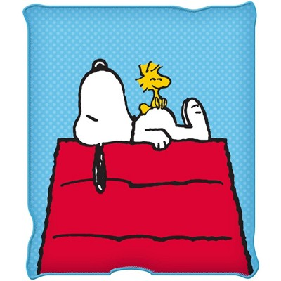 Silver Buffalo Peanuts Snoopy & Woodstock 45 x 60 Inch Fleece Throw Blanket