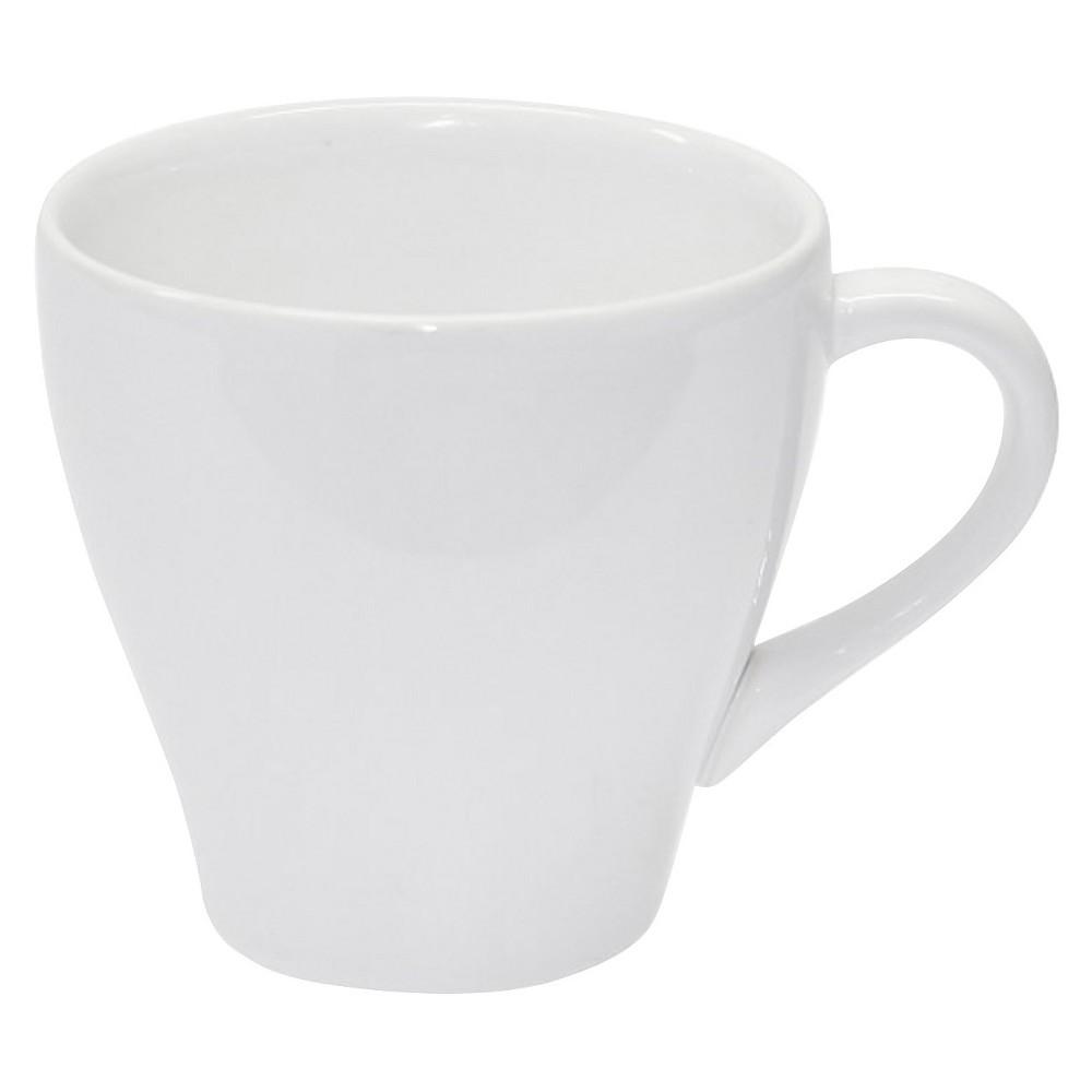 Porcelain Wide Coffee Mug 13oz White Set of 4 - Threshold
