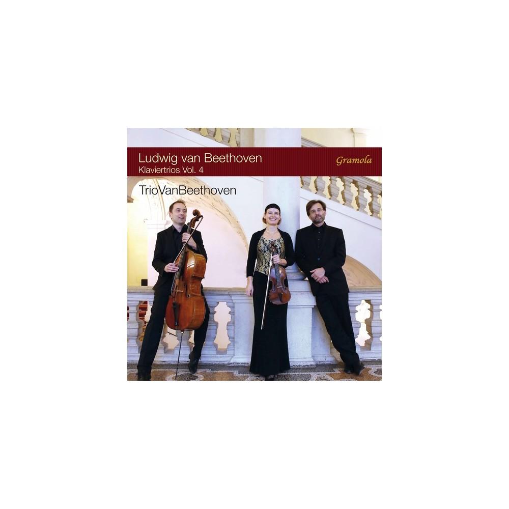 Triovanbeethoven - Beethoven:Piano Trios Vol 4 (CD)