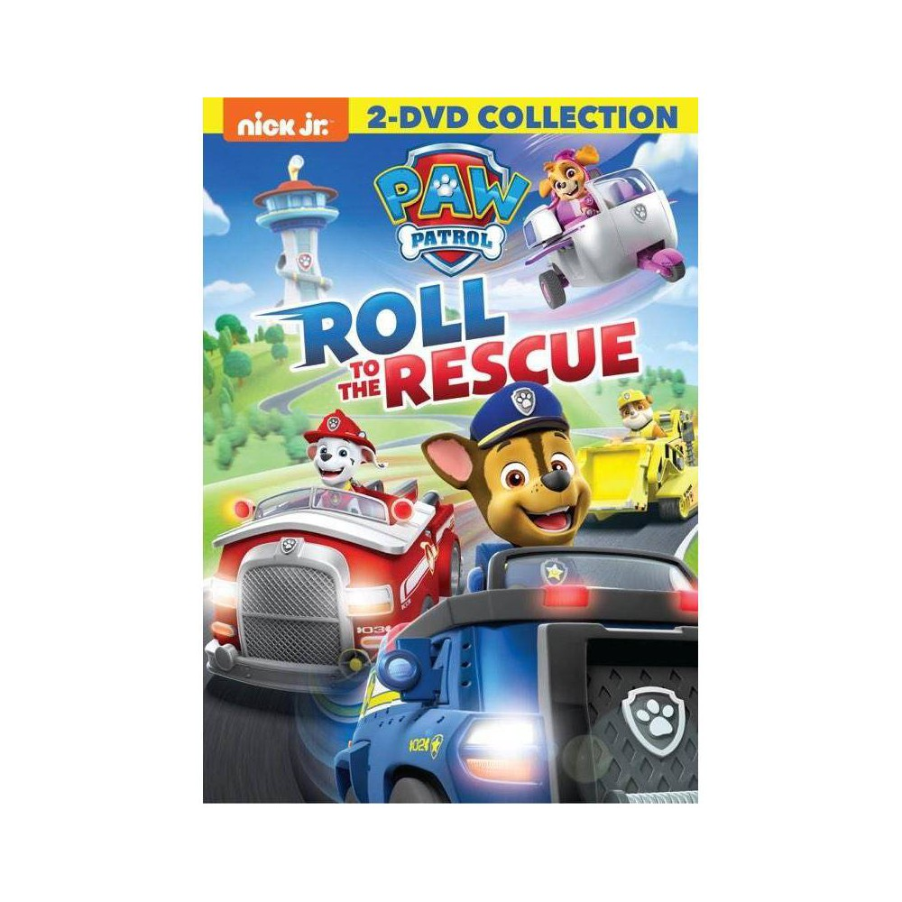 Paw Patrol Roll To The Rescue Dvd 2018