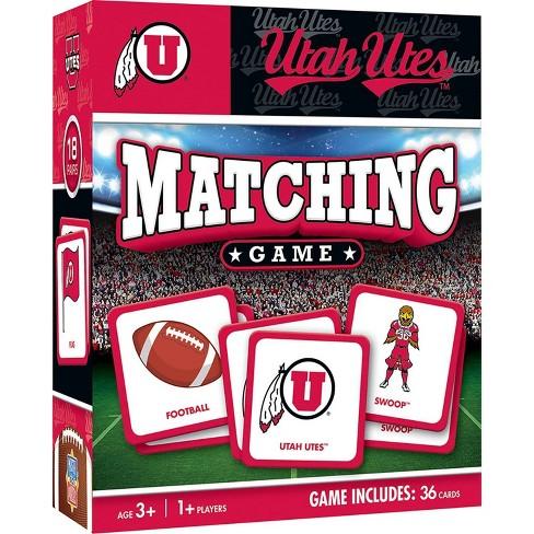 NCAA Utah Utes Matching Game - image 1 of 2