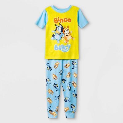 Toddler 2pc Bluey Pajama Set - Blue