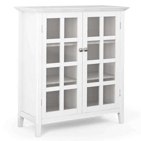 Normandy Solid Wood Medium Storage, Target Storage Cabinets Furniture