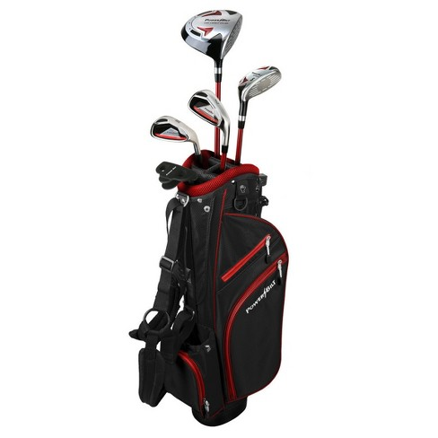 PowerBilt Junior Boys' Set Right Hand - Red (Ages 12+) - image 1 of 3