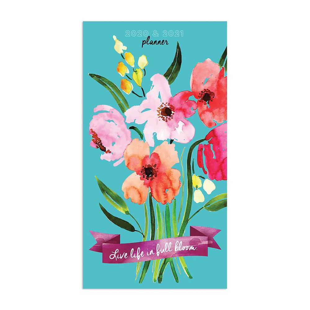 """Image of """"2020-21 2yr Planner 6.5"""""""" x 3.5"""""""" Printed Bouquet"""""""