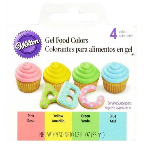 Wilton Gel Icing Decorating Set - 4ct : Target