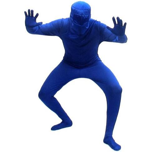 Seasonal Visions Blueman Bodysuit Costume Adult - image 1 of 1