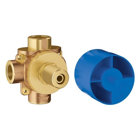 """Grohe America, Inc 29 901 Concetto 1/2"""" 2-Way Diverter Rough-In Valve - image 1 of 1"""