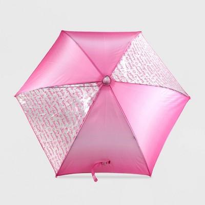 Girls' Disney Princess Stick Umbrella - Pink - Disney Store