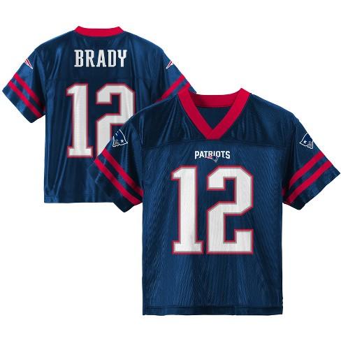 4e8e5791b54 NFL New England Patriots Boys  Player Jersey   Target