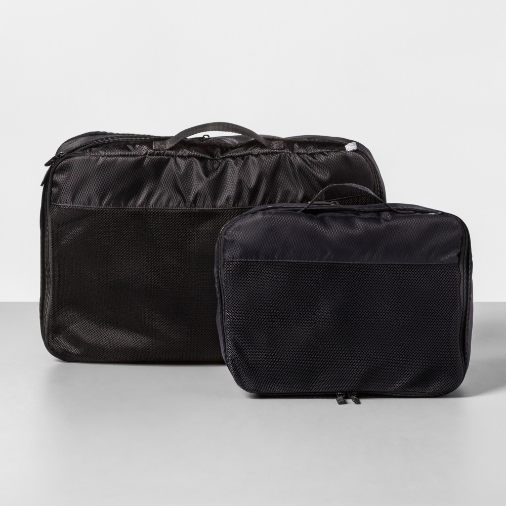 Image of 2pc Compression Packing Cubes - Made By Design , Gray