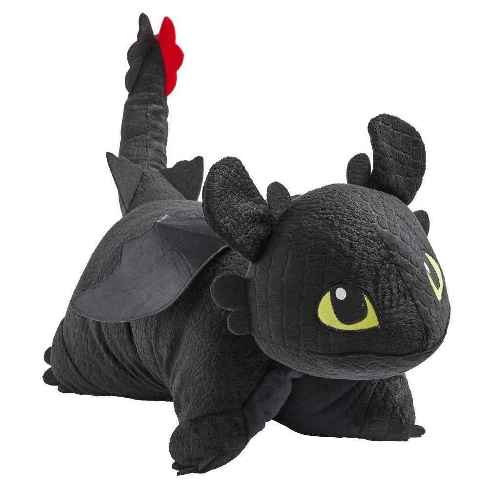 Image of Universal How To Train Your Dragon Toothless Pillow - Pillow Pet