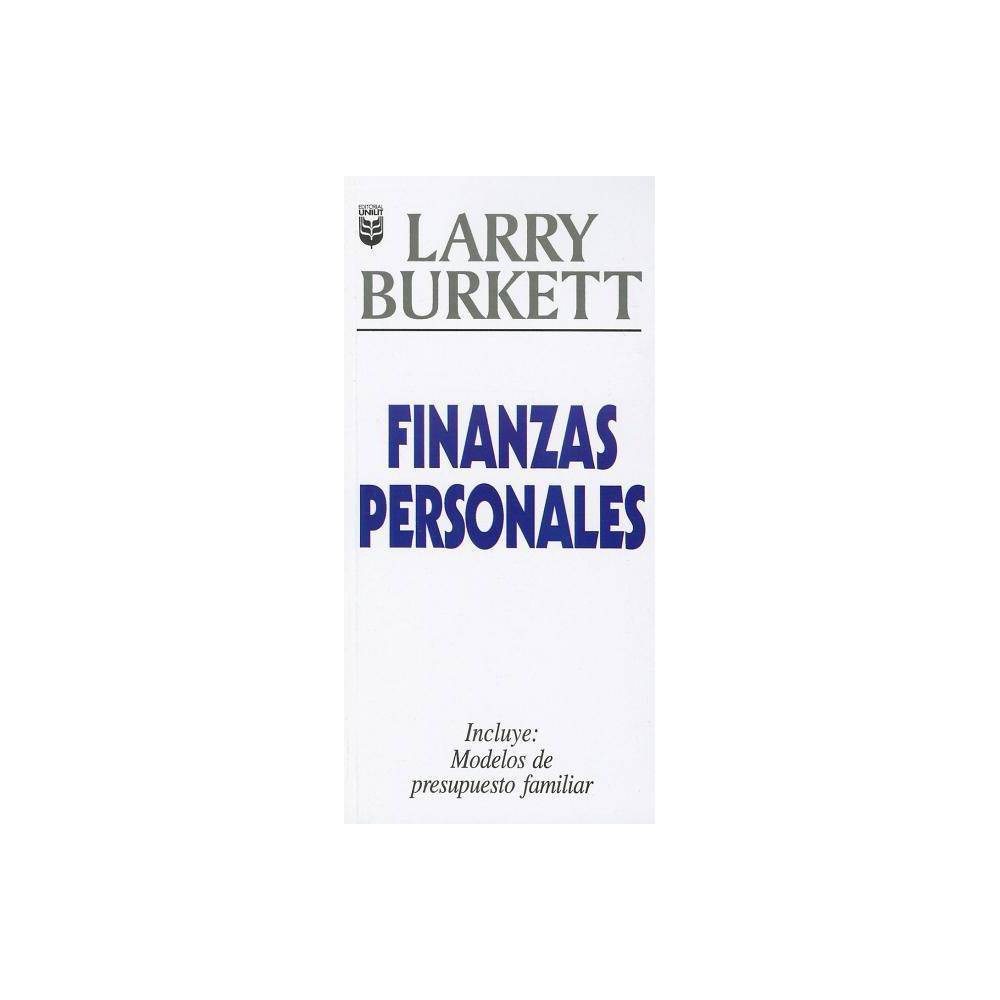 Finanzas Personales By Larry Burkett L Burkett Paperback