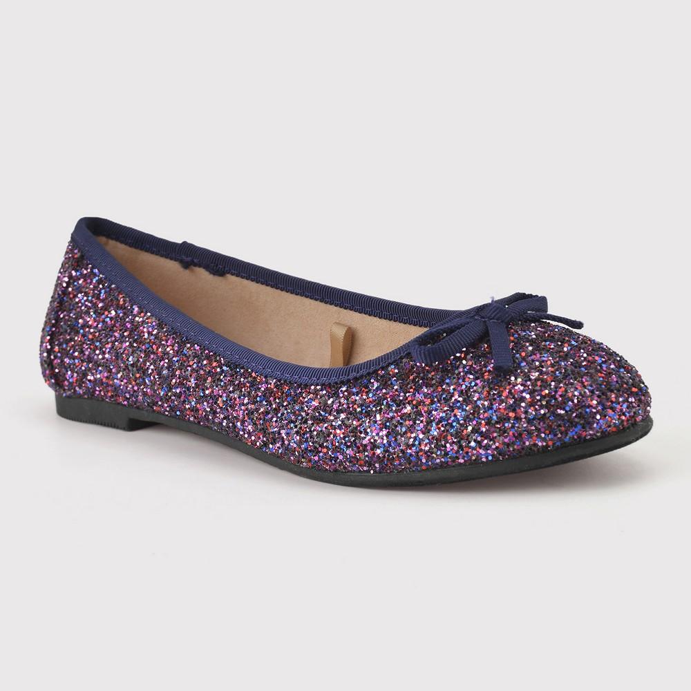 Girls' Brandee Ballet Flats - Cat & Jack Purple 1