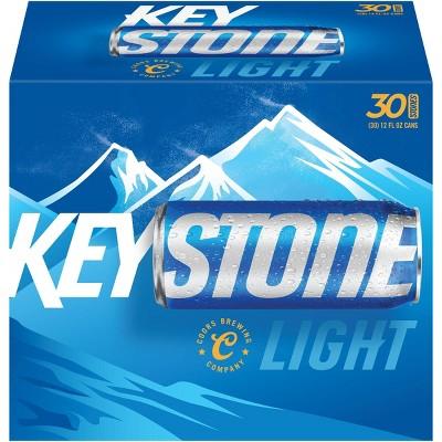 Keystone Light Beer - 30pk/12 fl oz Cans
