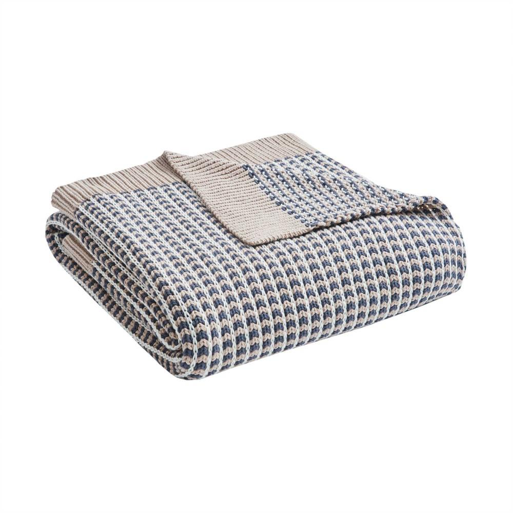 50 34 x 60 34 Moss Cotton Knit Throw