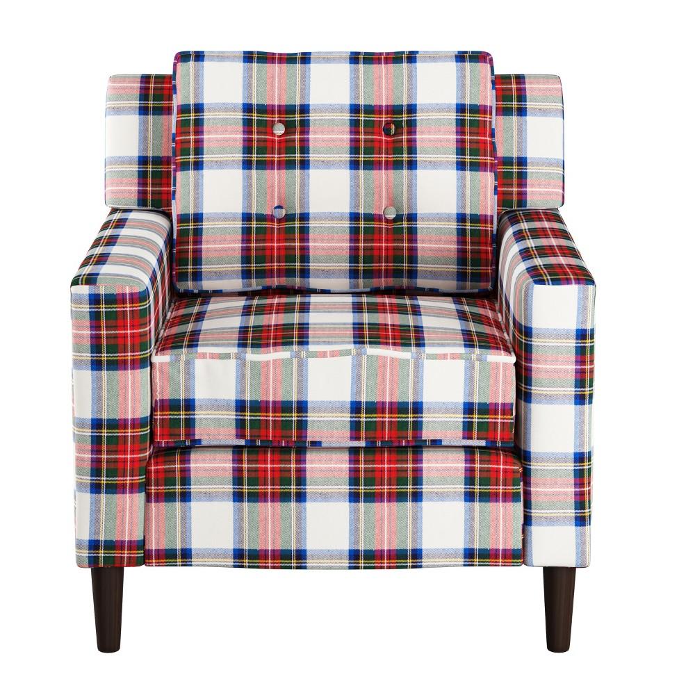 Armchair Stewart Dress Multi Skyline Furniture