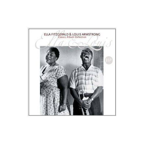 Ella Fitzgerald - Ella & Louis Classic Album Collection (Vinyl) - image 1 of 1
