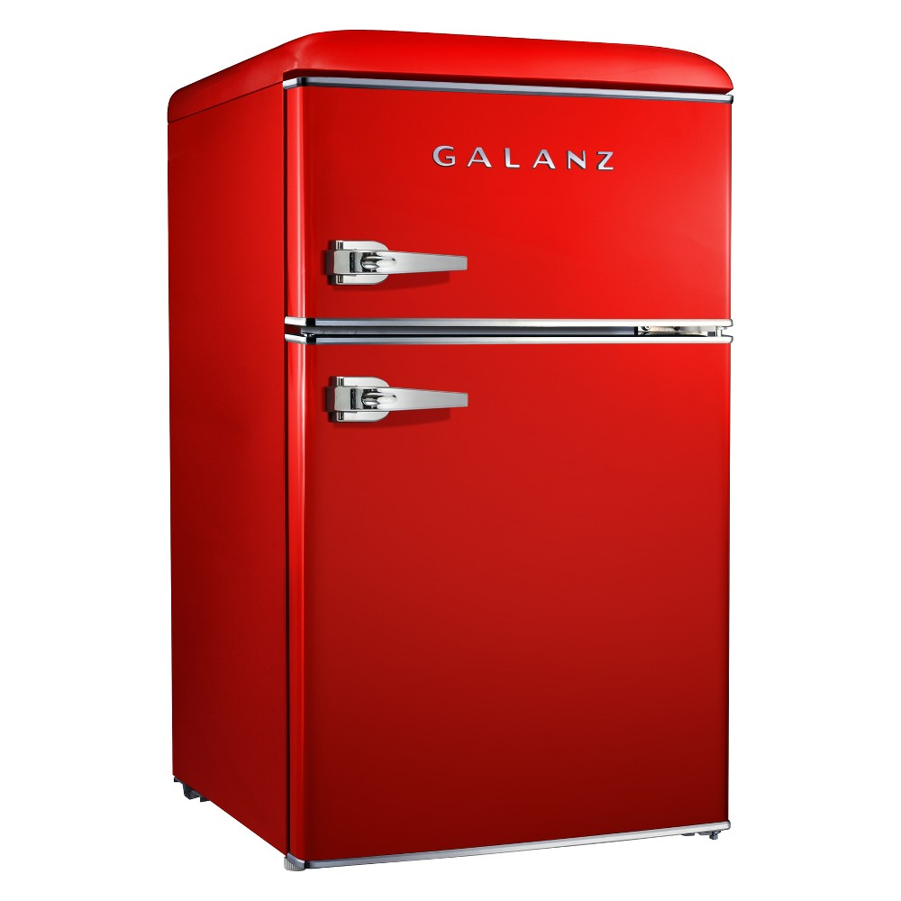 Image of Galanz 3.1 cu ft Retro Mini Fridge - Red GL31RDE
